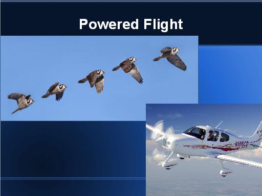 Powered Flight