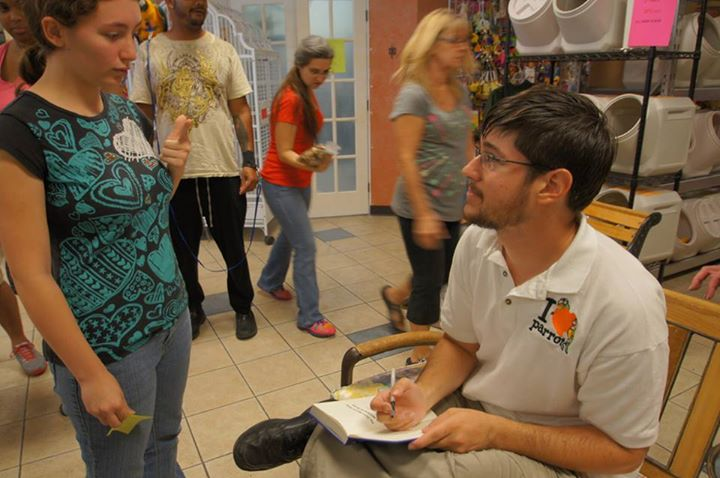 Parrot Wizard Book Signing Event